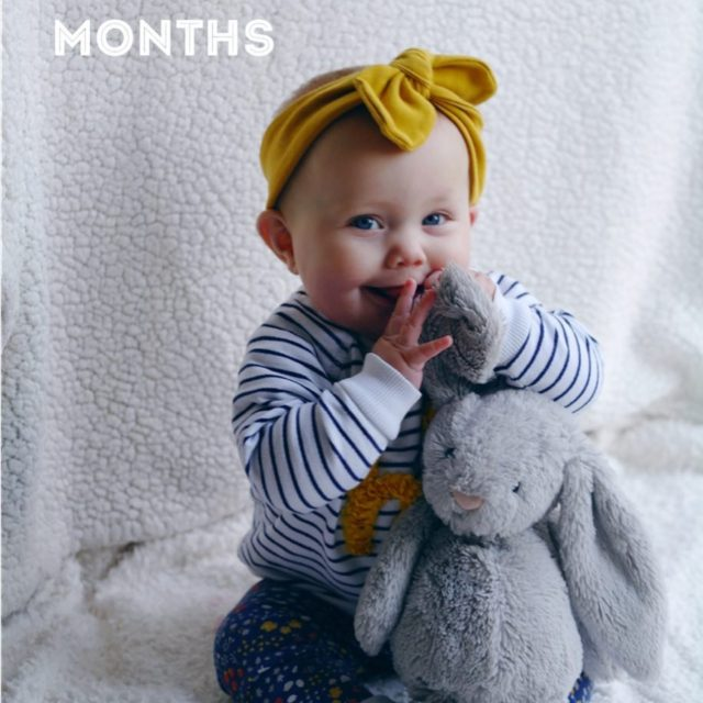 seven months  First monthly photo where she refusedhellip