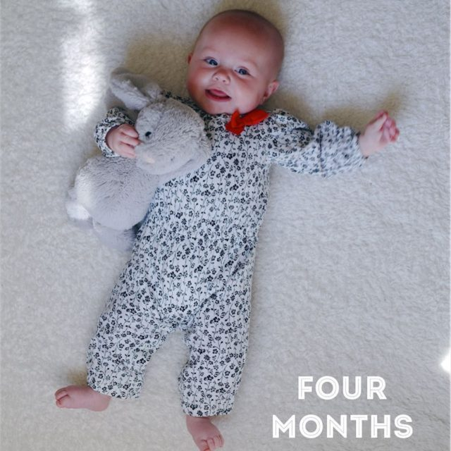 four months  Two teeth and a bit ofhellip