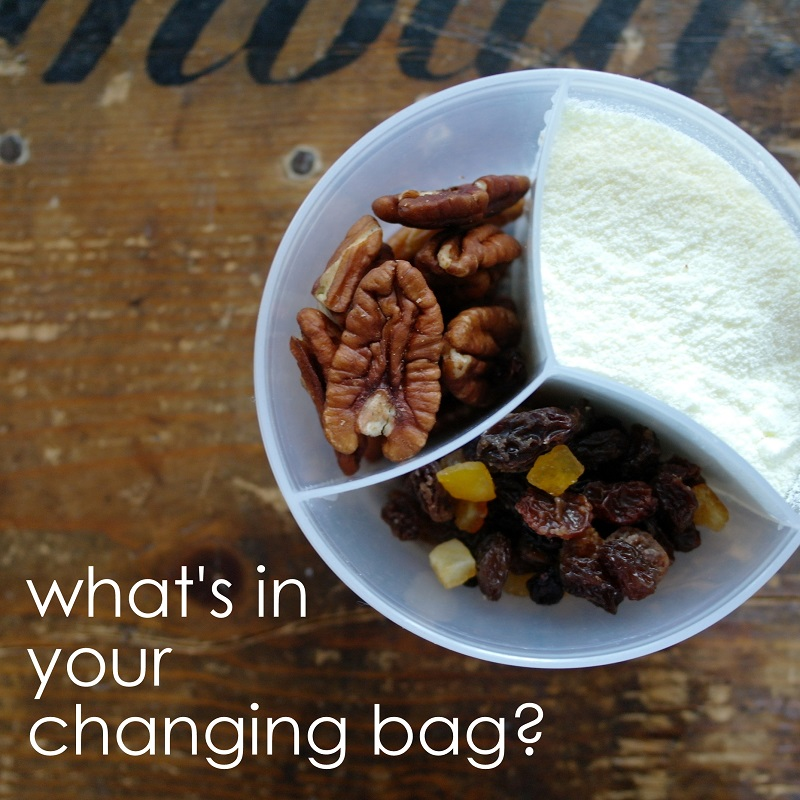 What's in your changing bag? on Make, Do and Push!