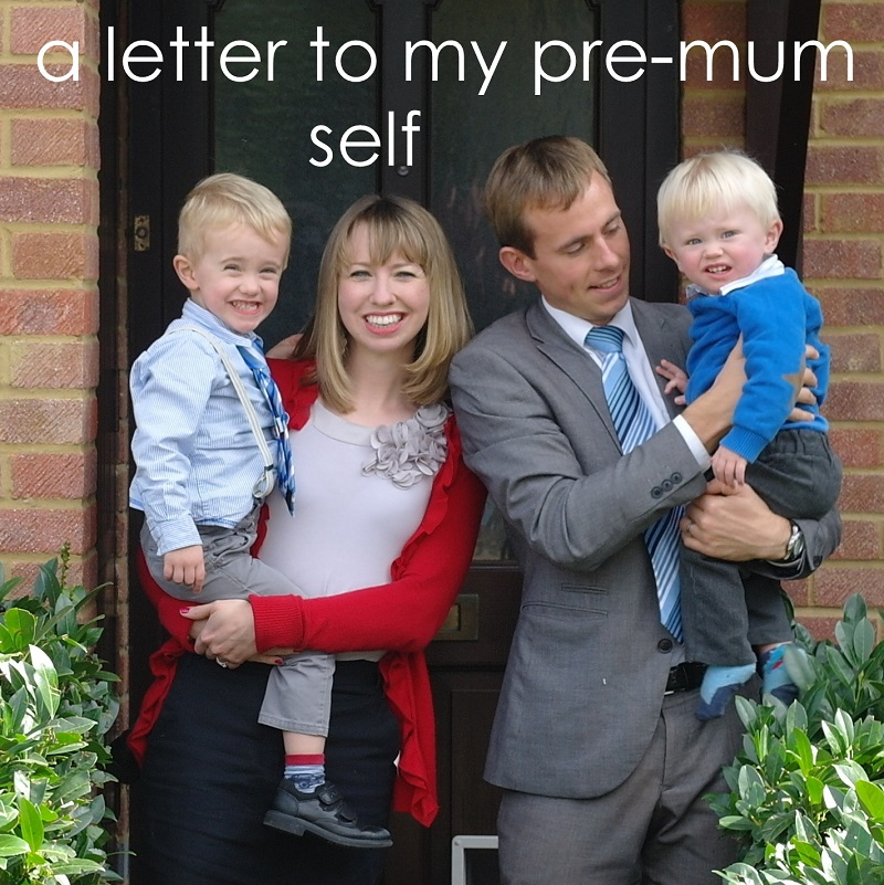A letter to my pre-mum self, on TalkMum.com