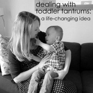 Dealing with toddler tantrums, on TalkMum.com