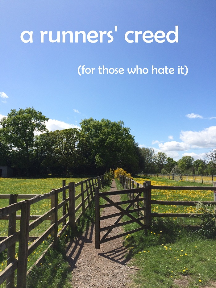 Runners' Creed