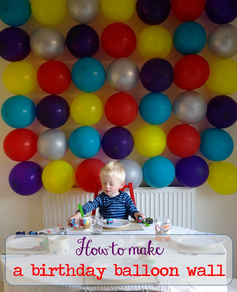 how to make a birthday balloon wall make a long story short