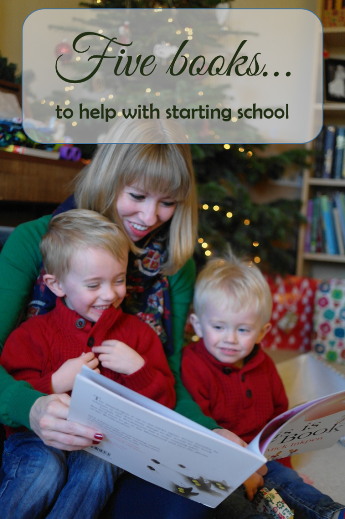 Five books to help with starting school